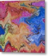 I Have My Head In The Clouds Metal Print