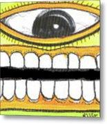 I Like 2 Smile Rs Metal Print