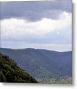 I Look To The Hills Metal Print