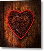 I Love Coffee 4 Metal Print