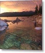 I Love Lake Tahoe Metal Print