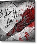 I Love Lucille Metal Print