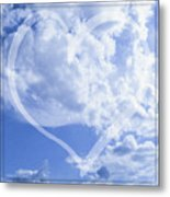 I Love You To The Clouds And Back Metal Print