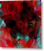 I Named You Rose Metal Print