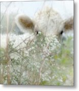 I See You - Sparkle Squares Metal Print