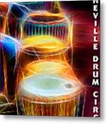 I Sing The Drums Electric Metal Print