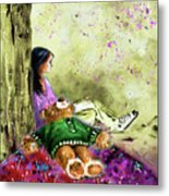 I Want To Lay You Down In A Bed Of Roses Metal Print