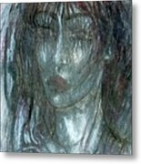 I Wept Out Eyes  Metal Print