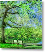 I Will Wait For You In Summer Metal Print