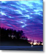 I70 West Ohio Metal Print