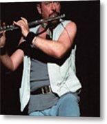 Ian Anderson Of Jethro Tull Metal Print