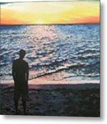 Ian's Sunset Metal Print