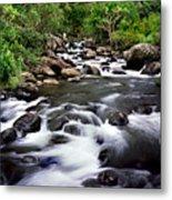 Iao Valley Stream Metal Print