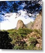 Iao Valley Metal Print