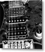 Ibanez Guitar Metal Print