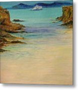 Ibiza In The Distance.... Metal Print