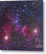 Ic 443 Supernova Remnant In Gemini Metal Print