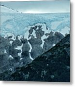 Ice And Rock Metal Print