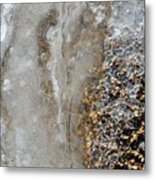 Ice And The Beach  Metal Print