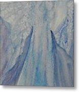 Ice Blue Angel Metal Print