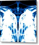 Ice Blue Metal Print by Sumit Mehndiratta