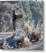 Ice Box Metal Print