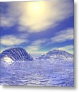 Ice Caps Metal Print