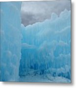 Ice Castles In Lincoln New Hampshire -1 Metal Print