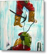 Ice Climbers Metal Print
