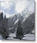 Ice Cold But Beautiul Metal Print