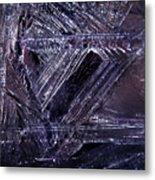 Ice-cold Gothic Night Metal Print