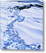 Ice Cube Creek Metal Print