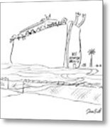 Ice Detention Facility Metal Print