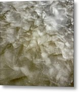 Ice Formations During The Winter Months Metal Print