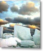 Ice Henge Metal Print by David April
