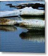 Ice In The Arctic Metal Print