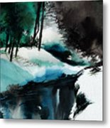 Ice Land Metal Print