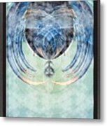 Ice Layered Effect And Framed Metal Print
