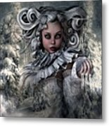 Ice Princess 004 Metal Print