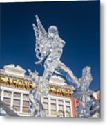 The Annual Ice Sculpting Festival In The Colorado Rockies, The Allure Of A Siren Metal Print