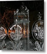Ice Sculpture Metal Print