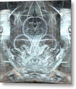Ice Temple Metal Print