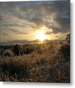 Ice To Sun Metal Print