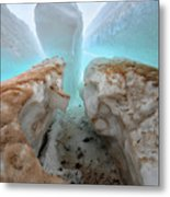 Ice Tooth Metal Print