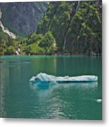 Ice Tracy Arm Alaska Metal Print