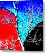 Ice Tree Metal Print by Eikoni Images