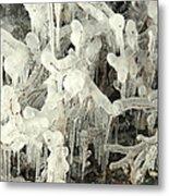 Ice Works Metal Print
