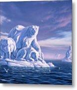 Icebeargs Metal Print by Jerry LoFaro