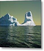 Iceberg in the Labrador Sea Metal Print