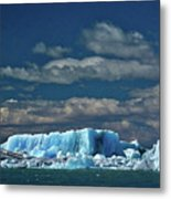 Iceberg In Viedma Lake - Patagonia Metal Print